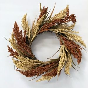 Wheat Spiral Wreath